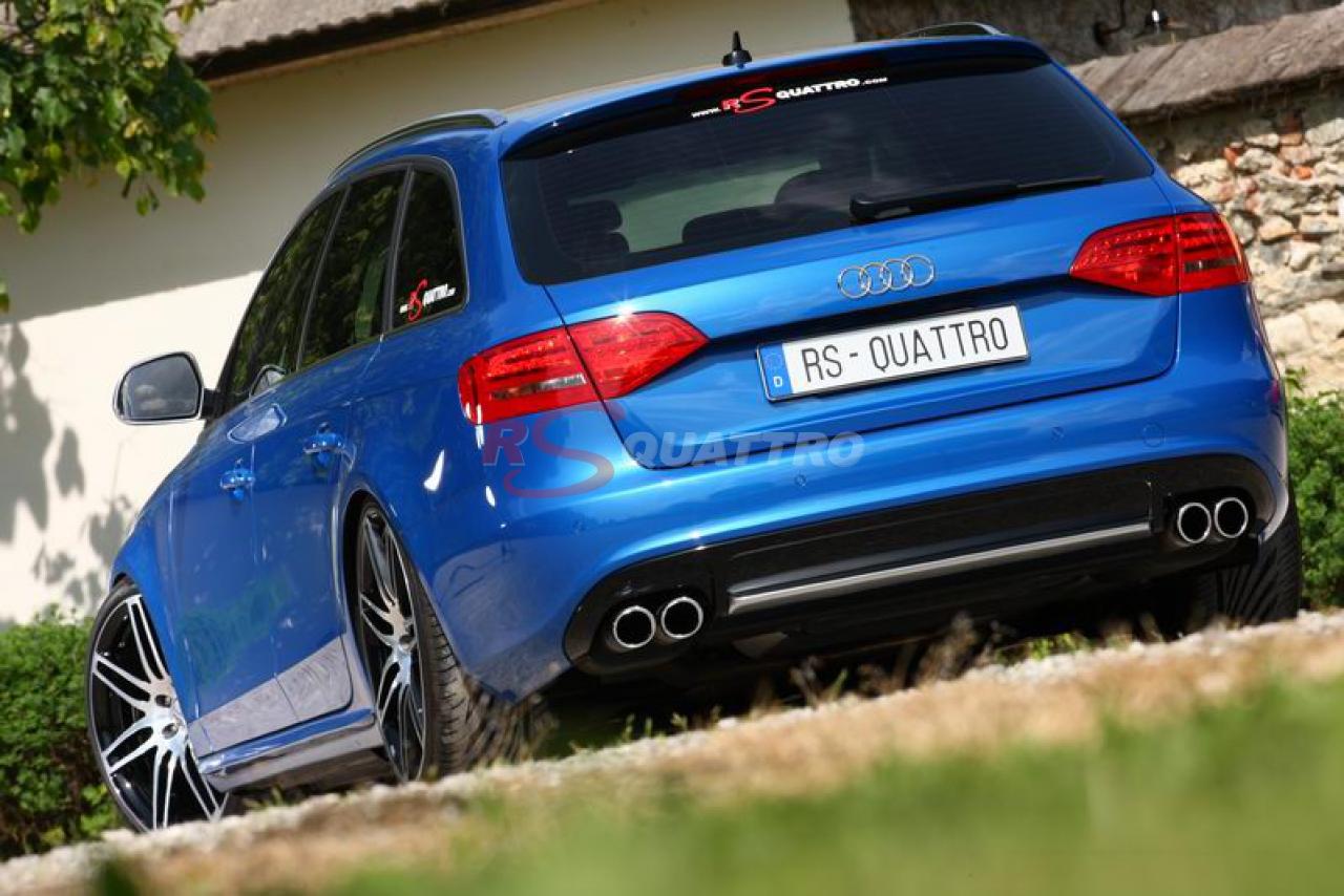 Audi A4 B8 Sprint Blue | RSQUATTRO