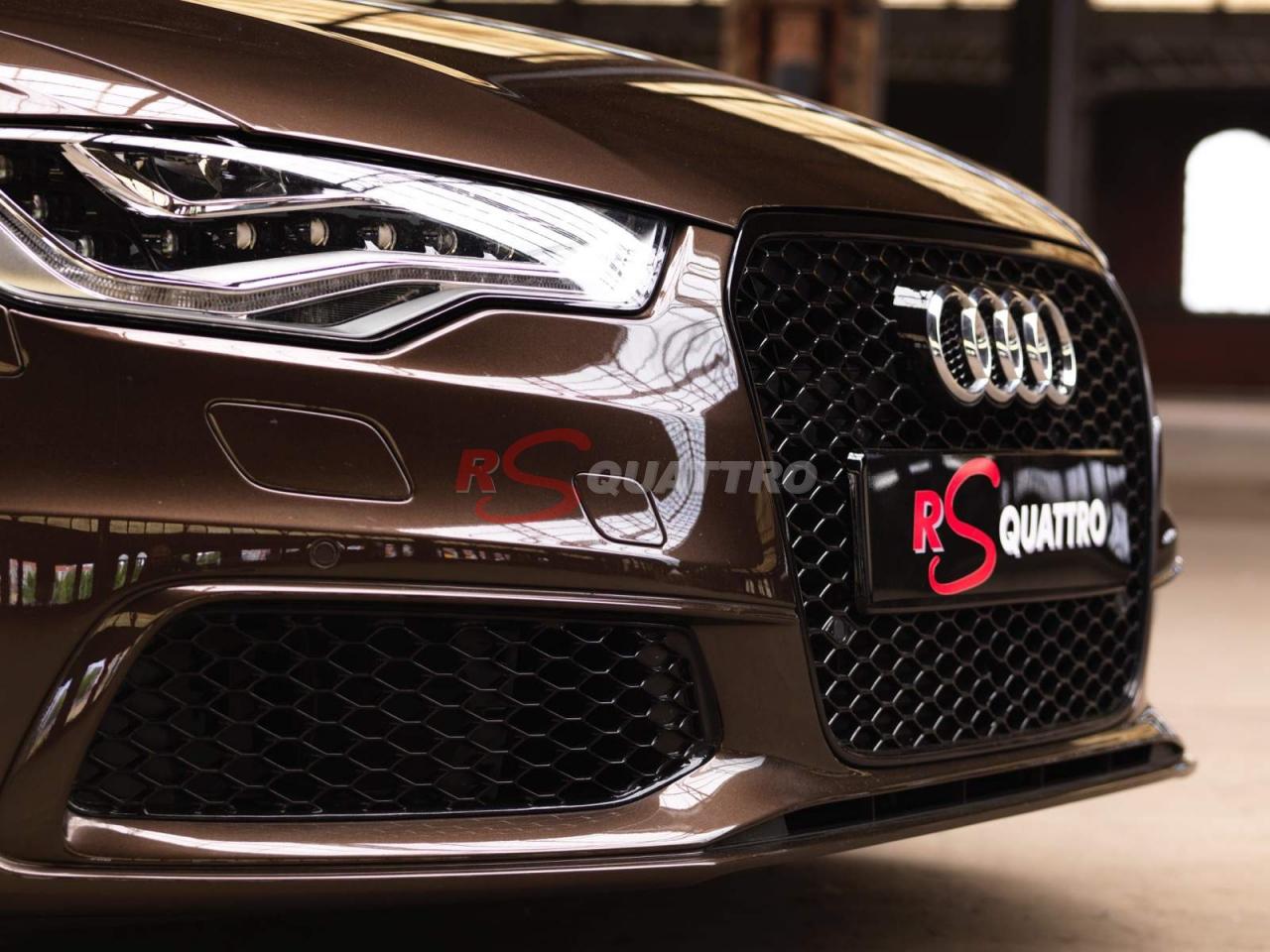 Audi A6 4g Macadamia Brown Rsquattro