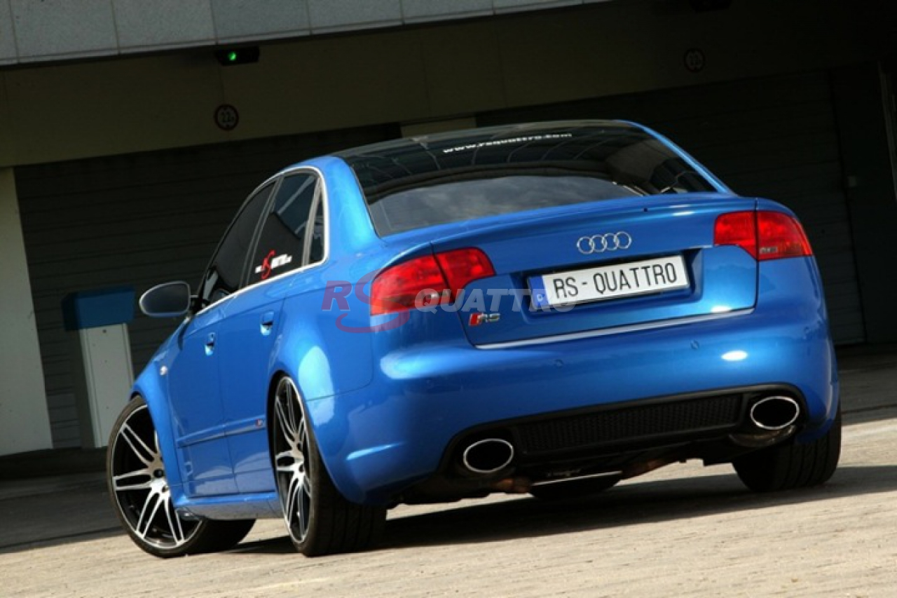 Audi Rs4 B7 Bleu Sprint Rsquattro