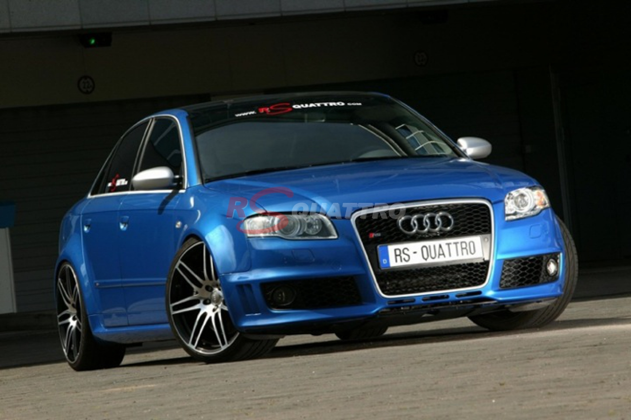 Audi RS4 B7 Sprint Blue | RSQUATTRO