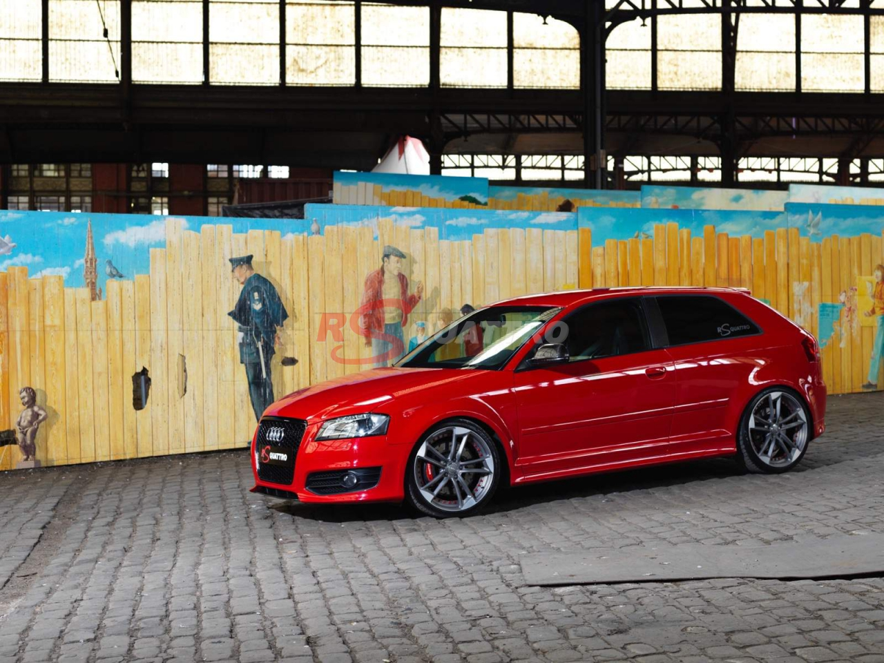 Audi S3 8p Red Rsquattro