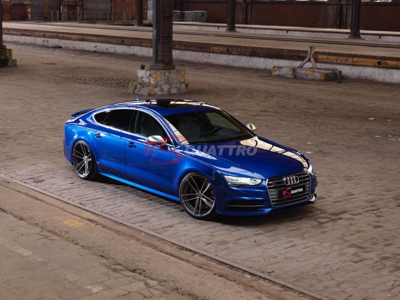 Audi S7 Bleu Sepang Rsquattro