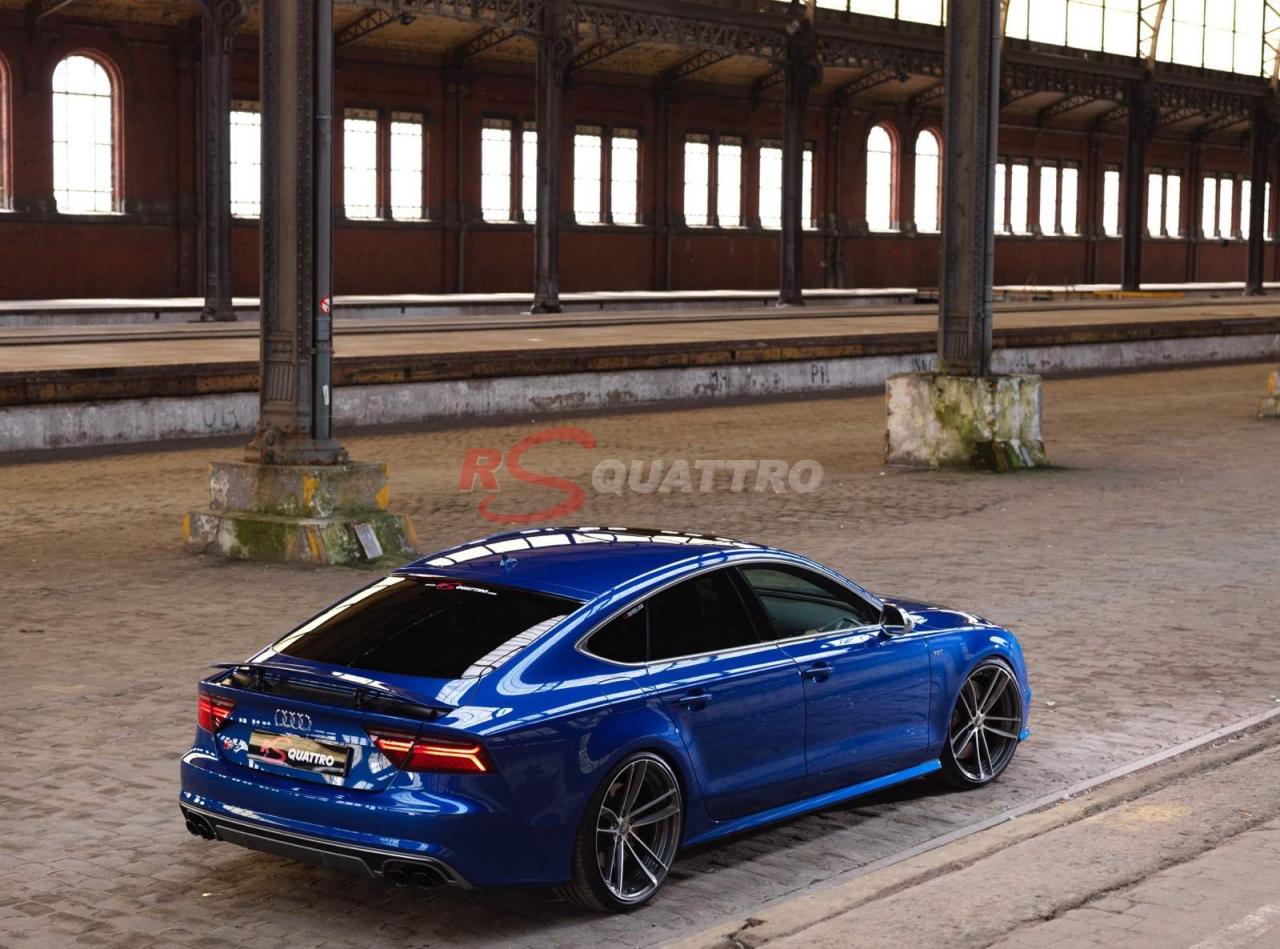 Audi S7 Sepang Blue Rsquattro